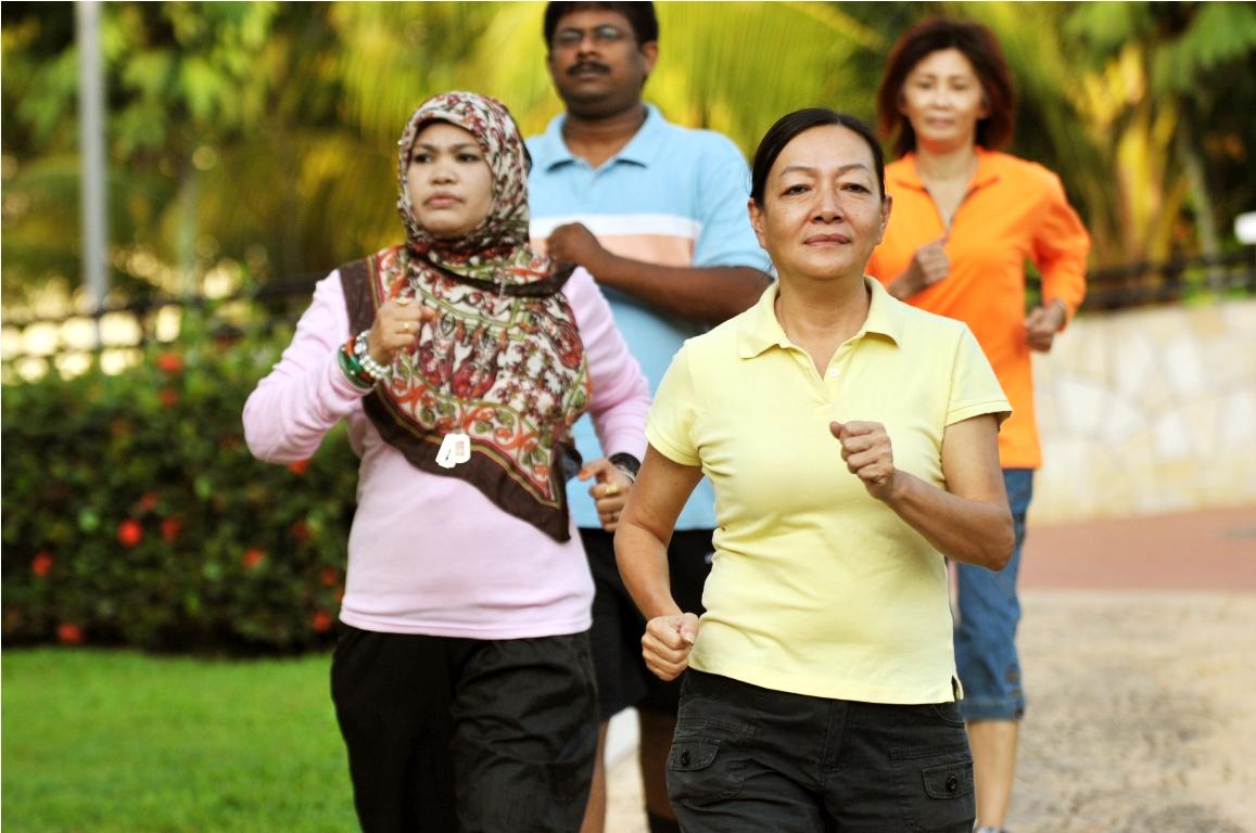 Brisk-walk to good health