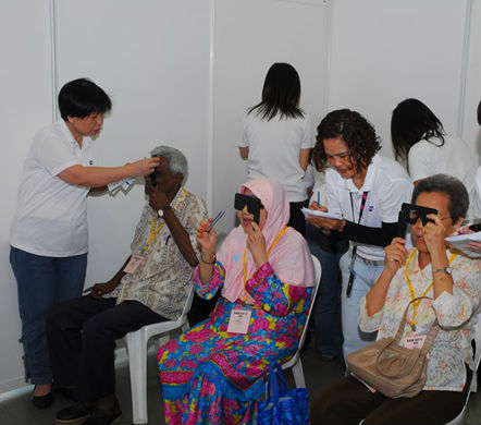 Low vision in almost half of the Malay elderly population