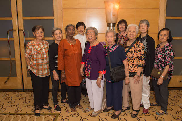 Honouring Pioneer Generation women