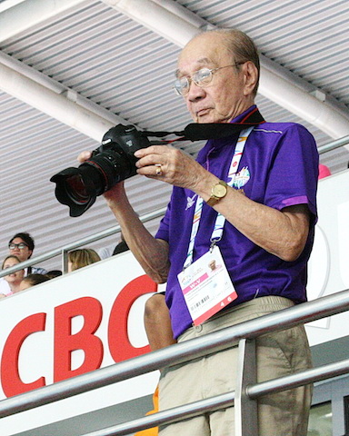 The oldest SEA Games volunteer