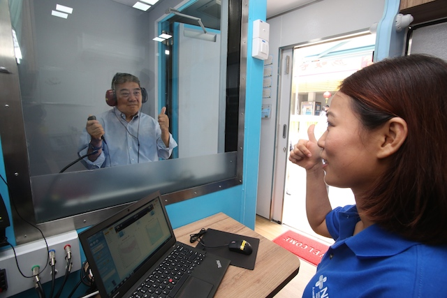 Singapore's first mobile hearing clinics