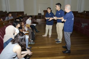 At the Old Parliament House where Mr Loe describes experiences during cabinet meetings with Mr Lee and his team.