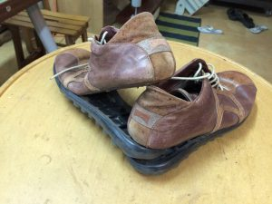 A simple DIY project could also be fixing the soles of shoes.
