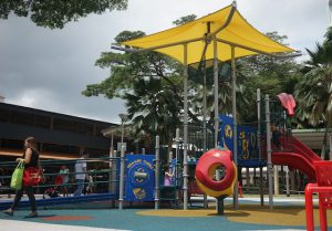 The SMRT Ghim Moh Inclusive Playground.