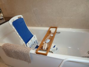 It comes down to the details, including in the bath tub when travelling.