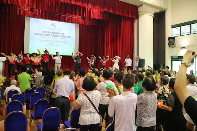 Senior volunteers create e-learning programme