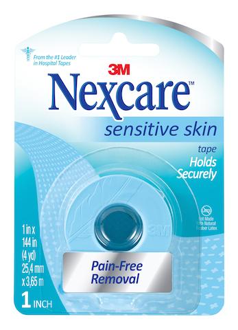 Nexcare Sensitive Skin Tape.