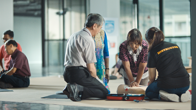 Philips launches campaign to get more to take up CPR and AED training