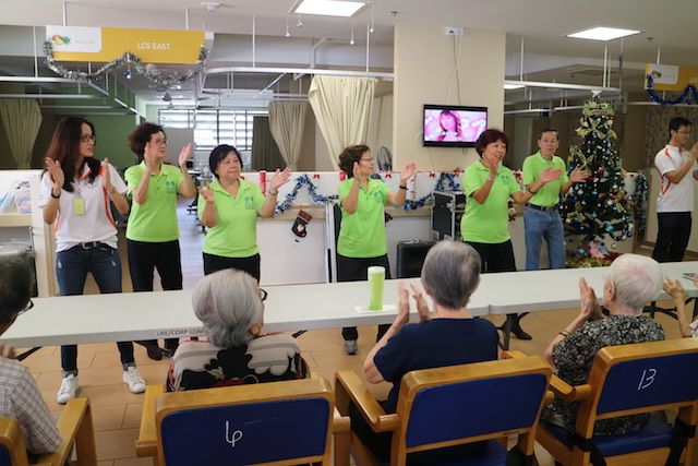 Getting more seniors to volunteer