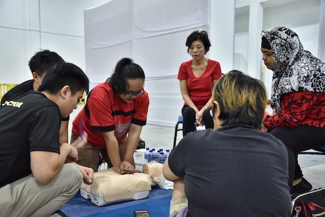 CPR retention