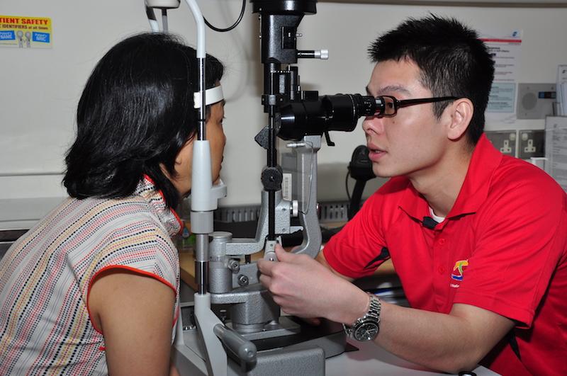 Get eye screenings regularly