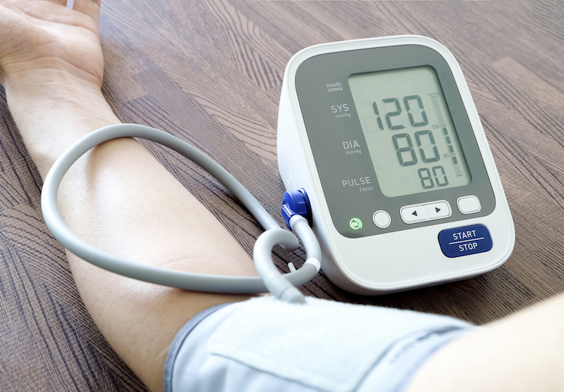 Checking your blood pressure at home