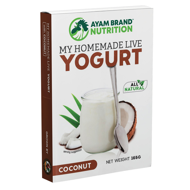 Homemade live yogurt