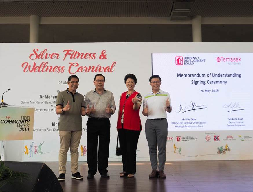 HDB with Temasek Polytechnic to promote active ageing in HDB estates