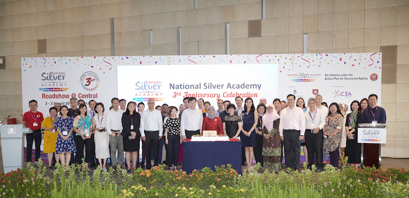 National Silver Academy's third anniversary celebrations