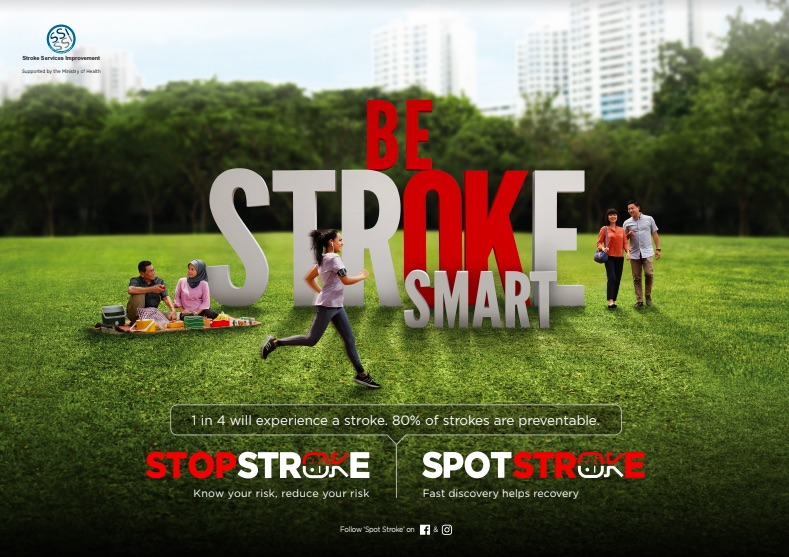 Stroke awareness campaign