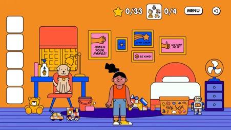Online game to teach good hygiene