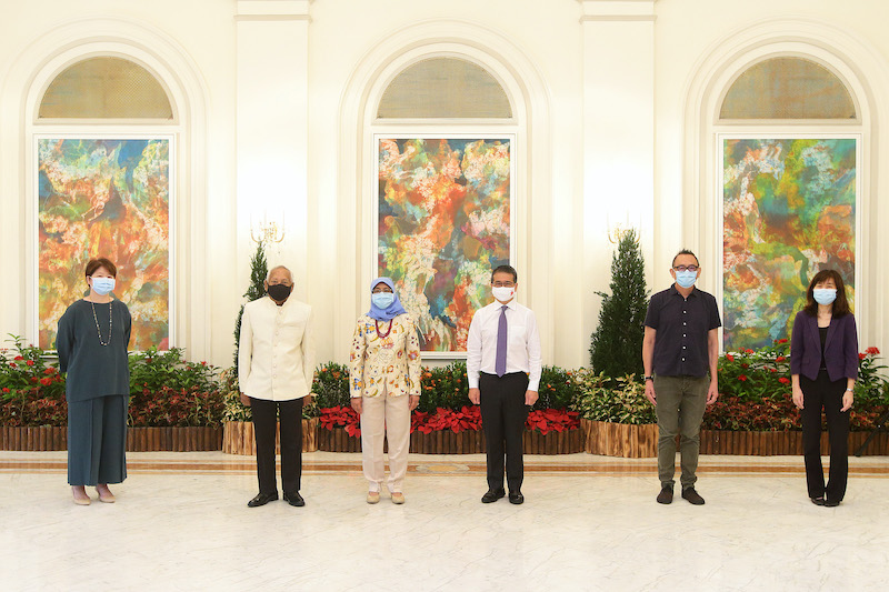 Two artists conferred Cultural Medallions