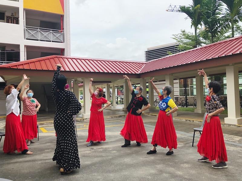 Let's do the flamenco