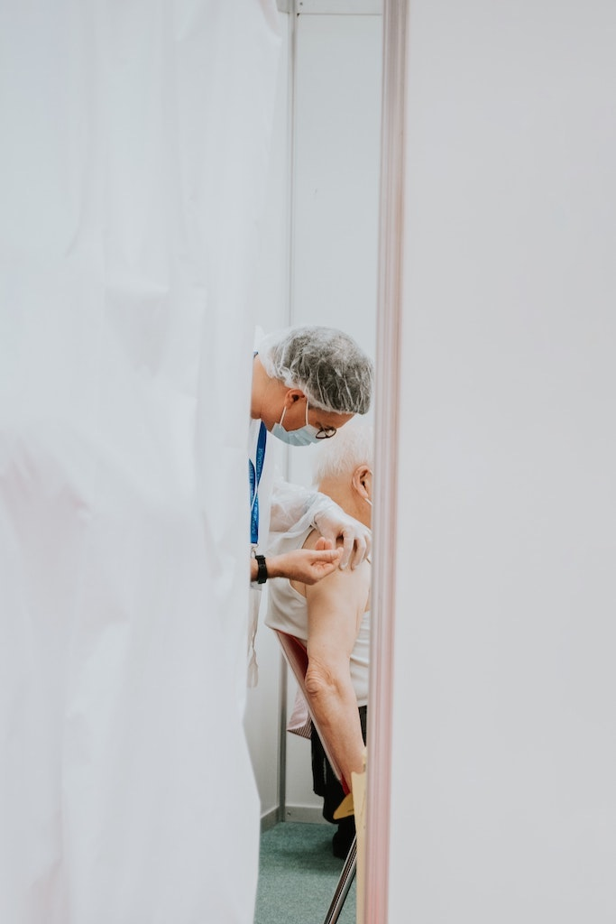 COVID vaccination for seniors